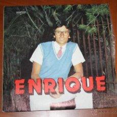 Discos de vinilo: ENRIQUE. AHORA SI Y UN VAGABUNDO VA. ACOMPAÑA FICUS, GRABACIÓN MAYRA. FONO GUANCHE. Lote 45788221