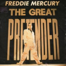 Dischi in vinile: FREDDIE MERCURY, SG, THE GREAT PRETENDER + 1, 1992 MADE IN U.K.. Lote 45793107