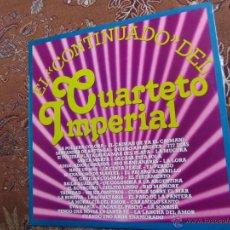 Discos de vinilo: LP DE VINILO DEL CUARTETO IMPERIAL-TITULO EL CONTINUADO- SE COMPONE DE 38 TEMAS- ES ORIGINAL DEL 80-. Lote 45795697