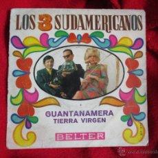 Discos de vinilo: LOS TRES SUDAMERICANOS. Lote 45799231