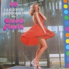 Disques de vinyle: LP - TUPA'S BAND - 50 CANCIONES INOLVIDABLES EN DISCOS FIESTA (SPAIN, TURQUESA RECORDS 1982). Lote 45801178