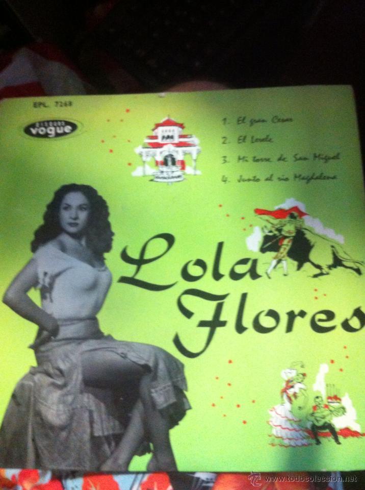 LOLA FLORES / EL GRAN CESAR / EDICION FRANCESA / SEECO (Música - Discos de Vinilo - EPs - Flamenco, Canción española y Cuplé)