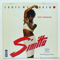 Discos de vinilo: SINITTA - 'CROSS MY BROKEN' (LP VINILO) - PEDIDO MÍNIMO 8€. Lote 45809066