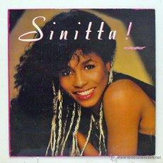 Discos de vinilo: SINITTA - 'SINITTA' (LP VINILO. ORIGINAL 1987) - PEDIDO MÍNIMO 8€. Lote 287789253