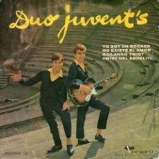 Discos de vinilo: DUO JUVENT´S, EP, YO SOY UN ROCKER + 3 , 1962. Lote 45816639