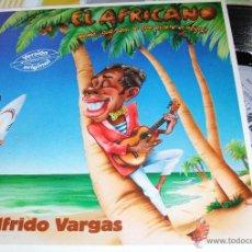 Discos de vinilo: WILFRIDO VARGAS-EL AFRICANO (MAMA, QUE SERA LO QUE QUIERE EL NEGRO). Lote 45818164