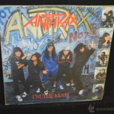 Discos de vinilo: ANTHRAX - I'M THE MAN - LP. Lote 45821233