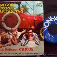 Discos de vinilo: LOCOMOTORO, VALENTINA Y EL CAPITÁN TAN CANTAN - CHIRIPITIFLAÚTICOS - EP ORIGINAL ESPAÑOL. Lote 27266952
