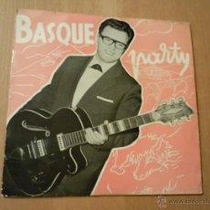 Discos de vinilo: J.A.VILLAR BASQUE PARTY BEGIAK BEGITAN + 3 EP GOIZTIRI. Lote 53049552