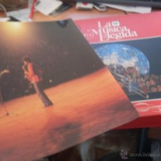 Discos de vinilo: EL JAZZ. LA MUSICA ELEGIDA. BOX 4 LP CON LIBRETO (CAJ5). Lote 45823426