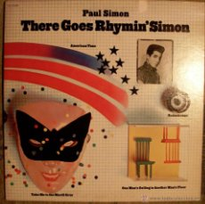 Discos de vinilo: PAUL SIMON - THERE GOES RHYMIN´SIMON - PORTADA DOBLE. Lote 45823918