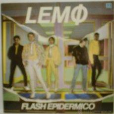 Discos de vinilo: LEMO - FLASH EPIDÉRMICO - LP 1981 - BELTER 2 47.175 ED. ORIGINAL. Lote 45824353