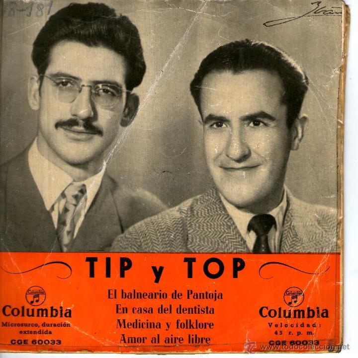 tip y top - el balneario de pantoja - Comprar Discos EP Vinilos música  Grupos Españoles 50 y 60 en todocoleccion - 45831223