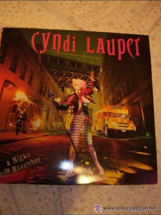 CINDY LAUPER TERCER LP I DROVE ALL NIGHT (Música - Discos de Vinilo - EPs - Pop - Rock Extranjero de los 90 a la actualidad)