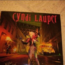 Discos de vinilo: CINDY LAUPER TERCER LP I DROVE ALL NIGHT. Lote 33449658