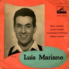 Discos de vinilo: LUIS MARIANO-PAJARO ENJAULADO. Lote 45849808