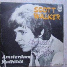 Discos de vinilo: SCOTT WALKER - AMSTERDAM. Lote 45850128