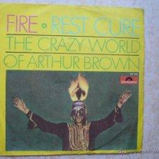 Discos de vinilo: THE CRAZY WORLD OF ARTHUR BROWN. Lote 45850169