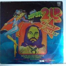 Discos de vinilo: JJ - DEMIS ROUSSOS LOS SUPER 2 LP DEMIS ROUSSOS DOBLE LP AÑO 1977. Lote 45851500