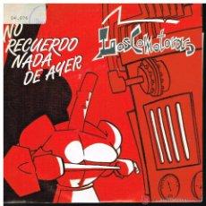 Disques de vinyle: LOSCOMOTORAS - NO RECUERDO NADA DE AYER / Y AHORA TU - SINGLE 1990 - PROMO. Lote 45852394