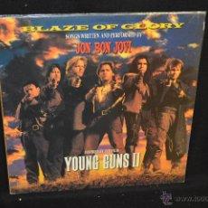 Discos de vinilo: BON JOVI - BLAZE OF GLORY - LP. Lote 45852559