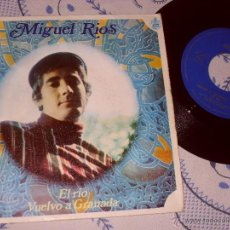 Discos de vinilo: MIGUEL RIOS SINGLE EL RIO MADE IN SPAIN. 1968. Lote 45856937