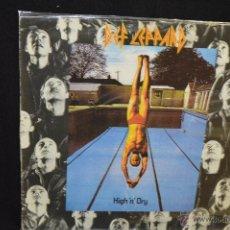 Discos de vinilo: DEF LEPPARD - HIGH N DRY - LP. Lote 97768762