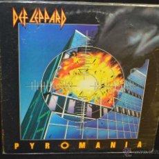 Discos de vinilo: DEF LEPPARD - PYROMANIA - LP. Lote 45858424