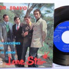 Discos de vinilo: LONE STAR - AMOR BRAVO +3 - EP 1966- EXC. ESTADO.. Lote 45861099