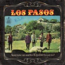 Discos de vinilo: PASOS, SG, AYER TUVE UN SUEÑO + 1 , 1967. Lote 45862058