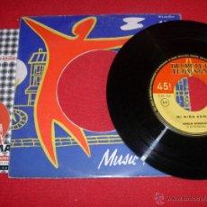Discos de vinil: AMALIA RODRIGUES ET SES GUITARISTES MI NIÑA BONITA DON TRIQUI - TRAQUE FRANCE SINGLE. Lote 45862229