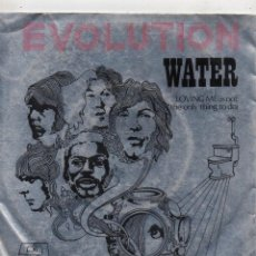 Discos de vinilo: EVOLUTION , SG, WATER + 1 , 1970. Lote 45862267