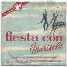 Discos de vinilo: 7535- FIESTA CON MARISELA- CHUCHO SANOJA Y SU GRAN ORQUESTA. Lote 45863583