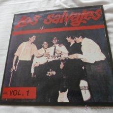 Discos de vinilo: LOS SALVAJES LP HIST.MUSICA POP ESPAÑOLA VOL 1(1988) COMO NUEVO * SUS INICIOS SUS PRIMERAS 12 PIEZAS. Lote 134958163