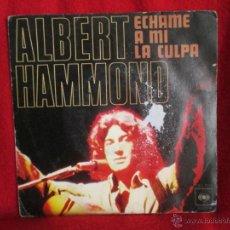 Discos de vinilo: ALBERT HAMMOND (AÑO 1976). Lote 45879458