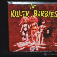 Discos de vinilo: THE KILLER BARBIES - I WANNA LIVE IN TROMAVILLE + 1 - SINGLE. Lote 96835495
