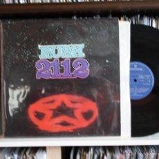 Discos de vinilo: RUSH, 2112, MERCURY RECORDS 1976, 1º EDICION ORIGINAL, MADE IN UK, LP, PORTADA ABIERTA. Lote 45890324