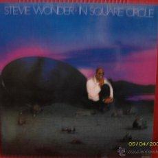 Discos de vinilo: STEVE WONDER -IN SQUARE CIRCLE. Lote 45894144