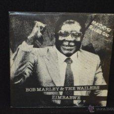 Discos de vinilo: BOB MARLEY - ZIMBABWE + 1 - SINGLE . Lote 45903744