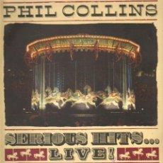 Discos de vinilo: PHIL COLLINS : SERIOUS HITS...LIVE!. Lote 45904193