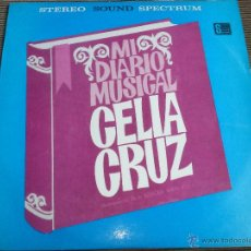 Disques de vinyle: CELIA CRUZ: MI DIARIO MUSICAL [VINILO]. Lote 45906497