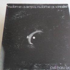 Discos de vinilo: JOSE MARIO BRANCO - MUDAM-SE OS TEMPOS, MUDAM-SE AS VONTADES 1974. Lote 45907412