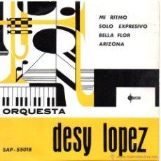 Discos de vinilo: ORQUESTA DESY LOPEZ, EP, MI RITMO + 3 , 1961. Lote 45910158