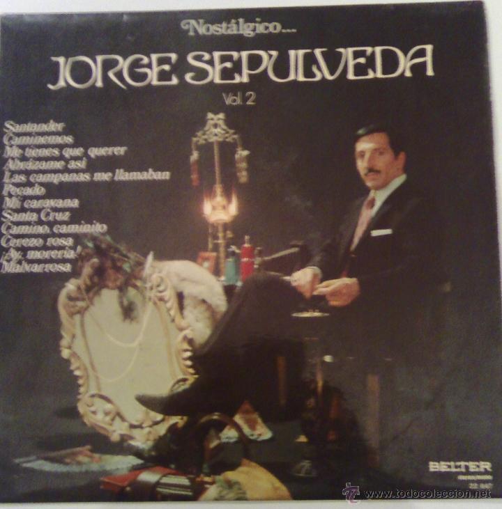 NOSTALGICO JORGE SEPULVEDA ( BELTER 1974 ) (Música - Discos - LP Vinilo - Solistas Españoles de los 50 y 60)