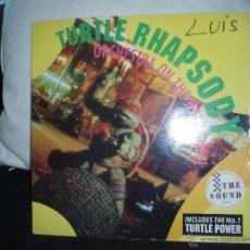 Discos de vinilo: TURTLE RHAPSODY-ORCHESTRA ON THE HALF SHELL. Lote 45925763