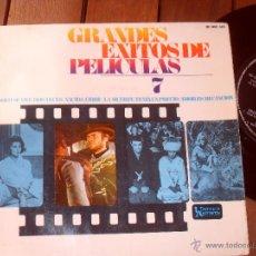 Discos de vinilo: GRANDES ÉXITOS DE PELÍCULAS 7 MADE IN MADE IN SPAIN 1967. Lote 45927294