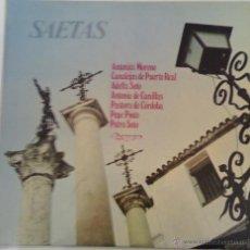 Discos de vinilo: SAETAS ( OLIMPO 1975 ). Lote 45928116