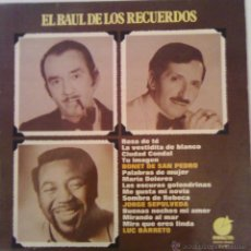 Discos de vinilo: EL BAUL DE LOS RECUERDOS - BONET SAN PEDRO, JORGE SEPULVEDA, LUC BARRETO - ( IMPACTO 1975 ). Lote 45928365