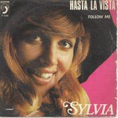 Dischi in vinile: SYLVIA - HASTA LA VISTA -. Lote 45929893