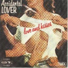 Dischi in vinile: ACCIDENTAL LOVER - LOVE AND KISSES -. Lote 45929992